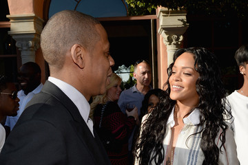 Rihanna Jay-Z Roc Nation Pre-GRAMMY Brunch Presented By MAC Viva Glam - Inside