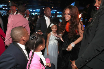 Rihanna Jay-Z The 59th GRAMMY Awards -  Roaming Show