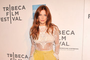 Riley Keough Dress Shorts