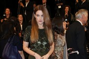 Riley Keough Maxi Dress