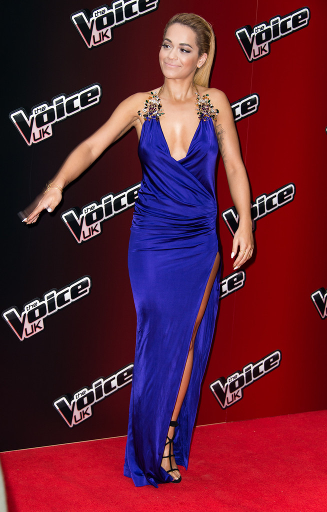 Rita Ora Wrap Dress Rita Ora Looks Stylebistro