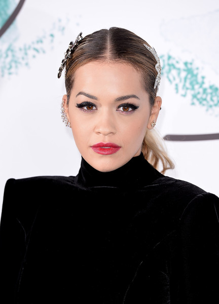 Rita Ora Ponytail [hair,face,eyebrow,lip,hairstyle,beauty,fashion,head,skin,chin,arrivals,rita ora,london,england,the serpentine gallery,serpentine galleries summer party,the serpentine galleries summer party]