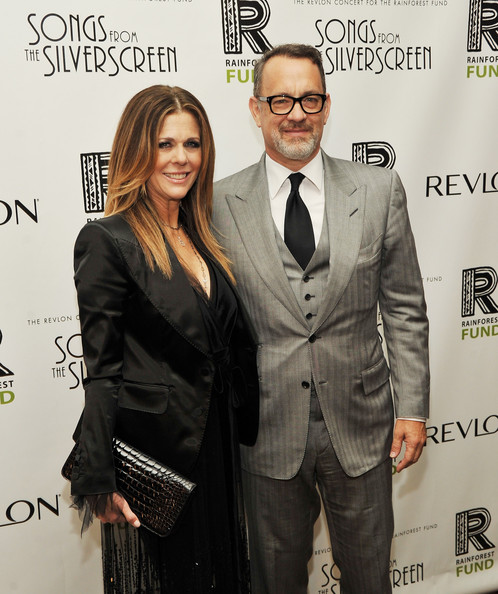 Rita Wilson Leather Clutch