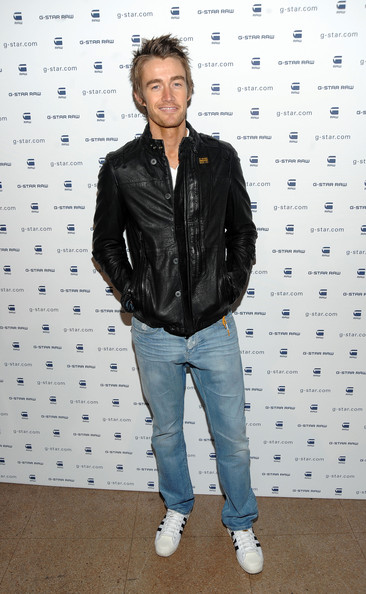 Robert Buckley Leather Jacket - Robert Buckley Looks - StyleBistro