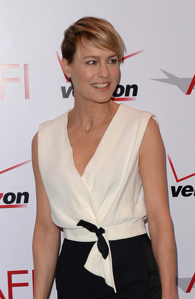 Actress Robin Wright attends the 14th annual AFI Awards Luncheon at ...