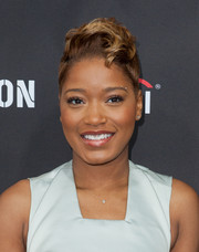 Keke Palmer teased her hair into a super-cool fauxhawk for the Roc Nation pre-Grammy brunch.