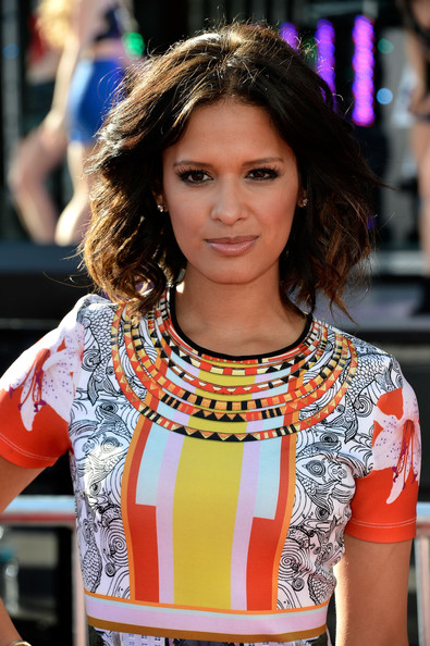 Rocsi Diaz Medium Wavy Cut