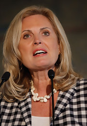 Ann's hair looked very polished at the US-Cuba PAC event.