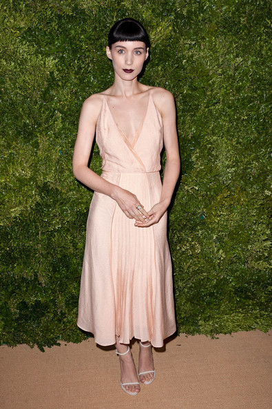 Rooney Mara Wrap Dress