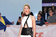 Rosamund Pike Cutout Dress