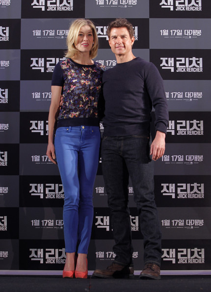'Jack Reacher' Press Conference In Seoul