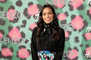 Rosario Dawson Button Down Shirt