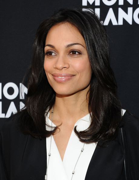 Rosario Dawson Layered Cut