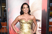 Rosario Dawson Strapless Dress