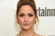 Rose Byrne Silver Lariat Necklace