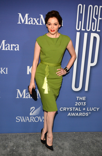 Rose McGowan Cocktail Dress