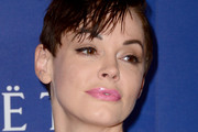 Rose McGowan Messy Cut