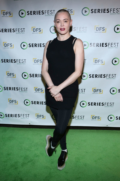 Rose McGowan Leggings