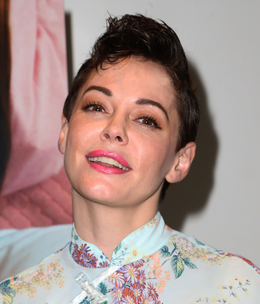 Rose McGowan Fauxhawk [short film and directorial debut ``dawn,short film and directorial debut ``dawn,hair,face,lip,eyebrow,facial expression,chin,forehead,skin,cheek,hairstyle,rose mcgowan,coverage,downtown independent theater,california,los angeles,premiere]