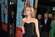 Rose McIver Strapless Dress