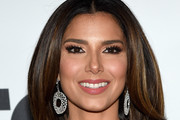 Roselyn Sanchez Dangling Diamond Earrings