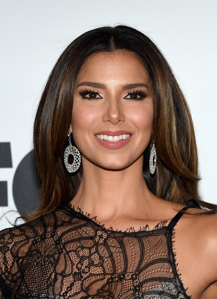 Roselyn Sanchez Long Center Part - Newest Looks - StyleBistro