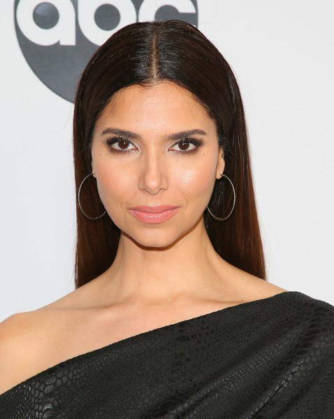 Roselyn Sanchez Long Straight Cut [abc television hosts tca winter press tour 2019 - arrivals,hair,face,eyebrow,hairstyle,clothing,lip,shoulder,beauty,skin,chin,roselyn sanchez,pasadena,california,disney]