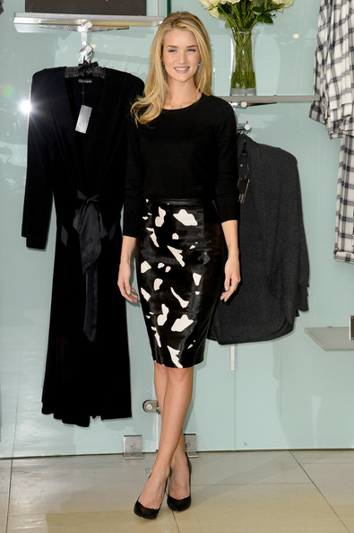 Rosie Huntington-Whiteley Pencil Skirt