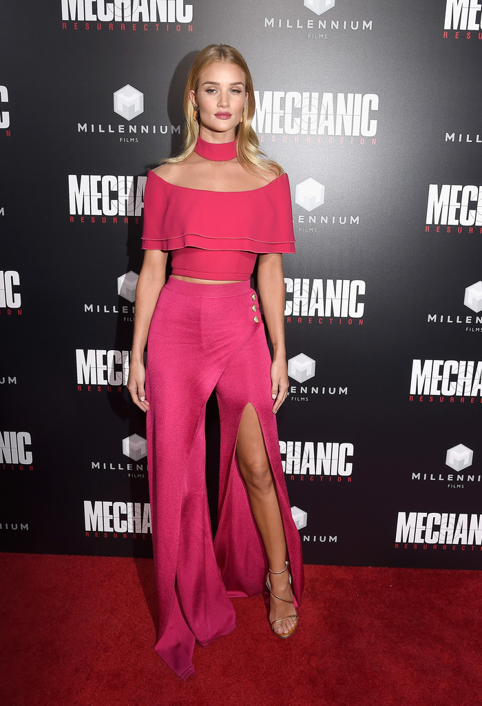 Rosie Huntington Whiteley Strappy Sandals Rosie