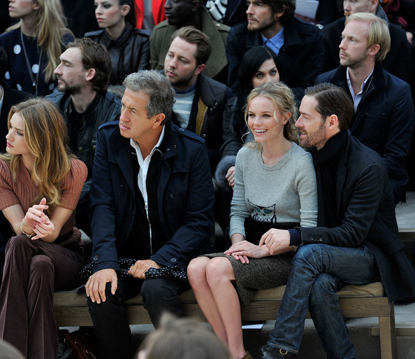 Burberry Autumn Winter 2012 Womenswear Front Row