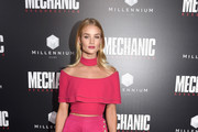 Rosie Huntington-Whiteley Off-the-Shoulder Top