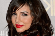 Roxanne Pallett Long Curls with Bangs