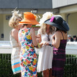 Day dresses and fancy hats