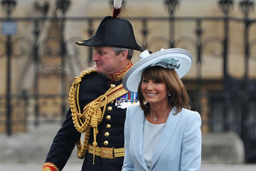 Carole Middleton Wears Catherine Walker to the Royal Wedding