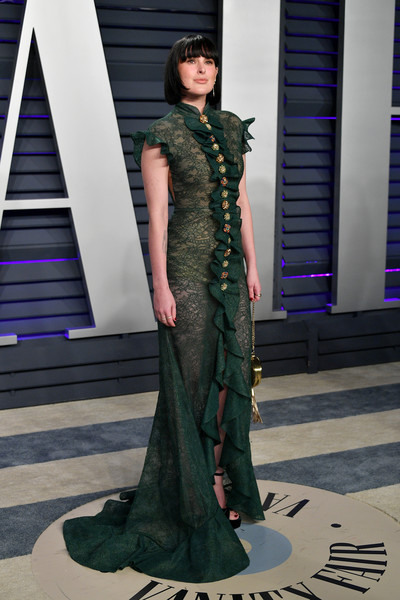 Rumer Willis Lace Dress [oscar party,vanity fair,clothing,fashion model,fashion,haute couture,dress,gown,formal wear,fashion design,shoulder,fashion show,beverly hills,california,wallis annenberg center for the performing arts,radhika jones - arrivals,radhika jones,rumer willis]