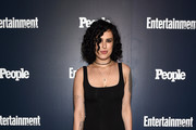 Rumer Willis Form-Fitting Dress