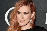 Rumer Willis Long Side Part
