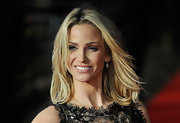 With strands so light and airy, it's almost easy to think Sarah Harding walks around with her own personal wind machine. Nope, it's natural!