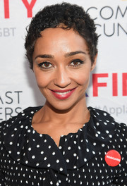 Ruth Negga sported close-cropped curls while attending Atlanta Pride.