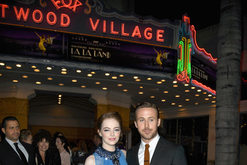 Ryan Gosling Emma Stone Premiere of Lionsgate's 'La La Land' - Red Carpet