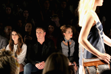 Ryan Lochte Shenae Grimes TRESemme At Rebecca Minkoff - Front Row- Spring 2013 Mercedes-Benz Fashion Week