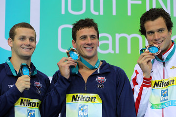 Ryan Lochte Tyler Clary 10th FINA World Swimming Championships (25m) - Day Five