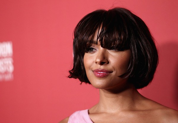 Kat Graham kept it short and sweet with this bob with eye-grazing bangs at the Patron of the Artists Awards.