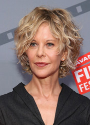 Meg Ryan sported her signature curled-out bob at the 2015 Savannah Film Festival.