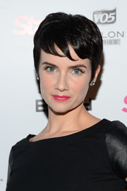 Victoria Summer looked charming with her pixie cut at the Star Magazine Scene Stealers party.