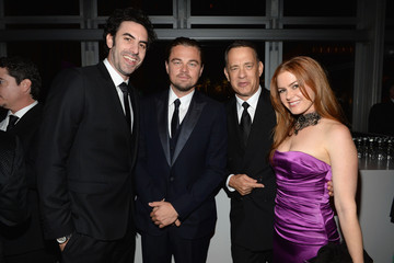 Sacha Baron Cohen Isla Fisher LACMA 2013 Art + Film Gala Honoring Martin Scorsese And David Hockney Presented By Gucci - Inside