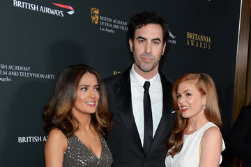Sacha Baron Cohen Isla Fisher Stars at the BAFTA LA Britannia Awards — Part 2
