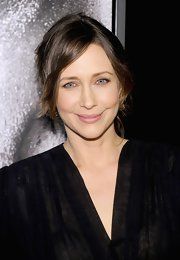 Vera Farmiga wore a pale rosy pink lipstick at the NYC premiere of 'Safe House.'