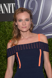 Diane Kruger looked lovely with her half-up wavy 'do at the Vanity Fair 2016 International Best Dressed List celebration.