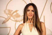 Louise Roe opted for edgy, straight layers when she attended the LoveGold party honoring Lupita Nyong'o.